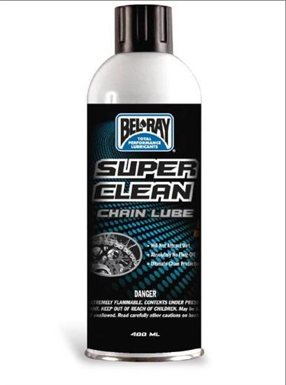 Bel-Ray Super Clean Chain Lube (400ml Sprej)  6e20ddd171c
