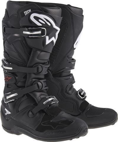 Alpinestars čižmy TECH 7 Black  6e217fe0c0e