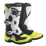 ALPINESTARS/ALPINESTARS  Detské MX boty TECH 3S Black/White/Yellow Fluo