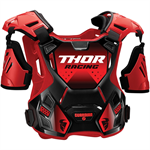 /THOR Chránič hrude GUARDIAN RED BLACK